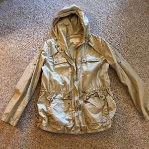 Michael Kors Zip-Up Jacket w/ Hoodie